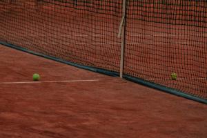 foto tennisbaan 1-tegen-1