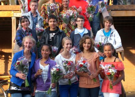 Eindfeest competitie 2012